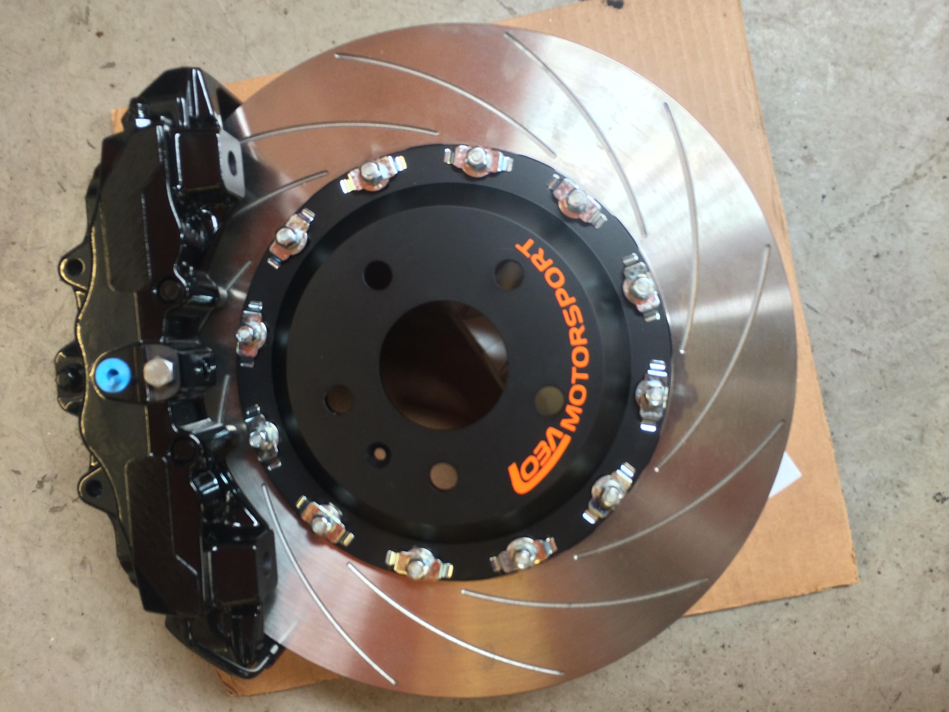 loba rs3 8 pot front brake upgrade kit mdm technik. Black Bedroom Furniture Sets. Home Design Ideas