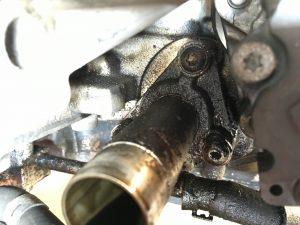 Audi RS6 C6 5 0 V10 – engine oil leak – MDM Technik