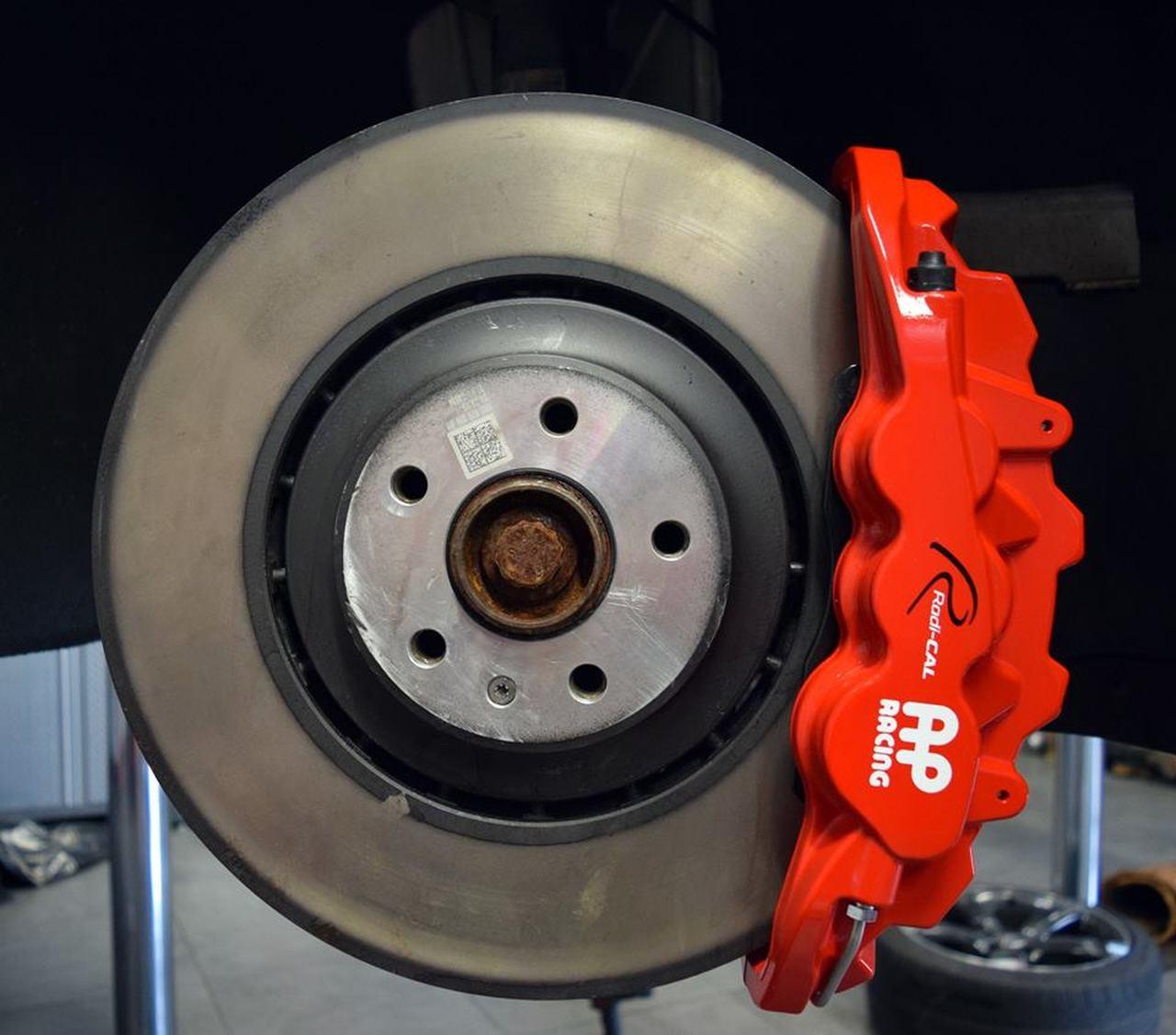 Auto Shack BRKPKG003879 Rear Performance Silver Rotors and Ceramic Pads Set